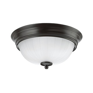 Sea Gull Lighting 79506BLE-782 Flush Mount, Heirloom Bronze Finish - heirloom bronze