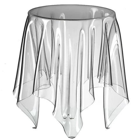 Illusion Side Table, Smoke Color (One time deal)