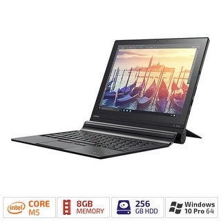 "Lenovo ThinkPad X1 Tablet 20GG001KUS 12"" (In-plane Switching (IPS) Technology) 2 in 1 - Intel Core M m5-6Y57 Dual-core (2"