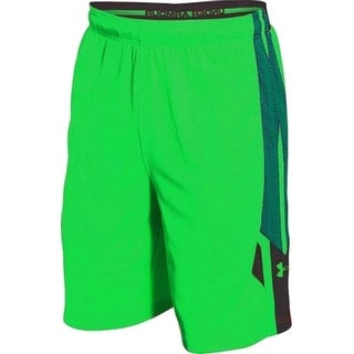 Under Armour NEW Green Mens Size Small S Loose Fit Basketball Shorts