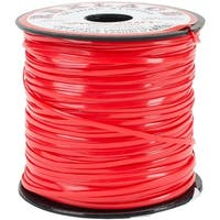 "Red - Rexlace Plastic Lacing .0938""X100yd"