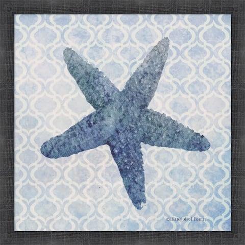 Bluebird Barn 'Starfish II' Framed Art