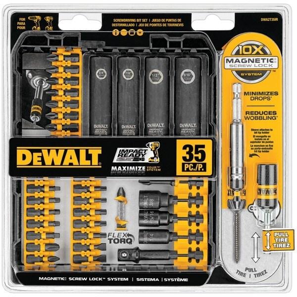 Dewalt Dwa2T35Ir 35-Piece Impact-Ready Screwdriver Set