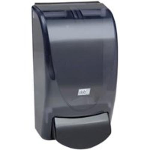 Deb 91106 Proline Re-Style Curve Soap Dispenser, Transparent Black