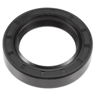 Oil Seal, TC 40mm x 60mm x 12mm, Nitrile Rubber Cover Double Lip - 40mmx60mmx12mm