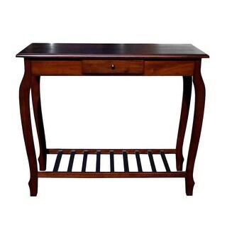 Offex Solid Kiln Dried Mahogany Carolina Console Table