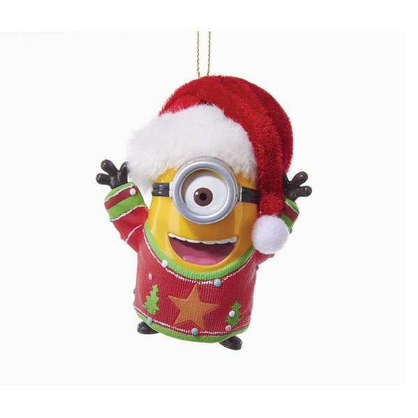 Despicable Me Minion with Sound & Light Ornament