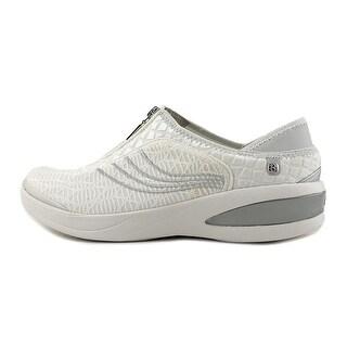 BZees Fancy Women White Sneakers