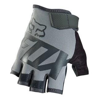 Fox 2015 Men's Ranger Short Finger MTB & BMX Cycling Gloves - 13225 - Black