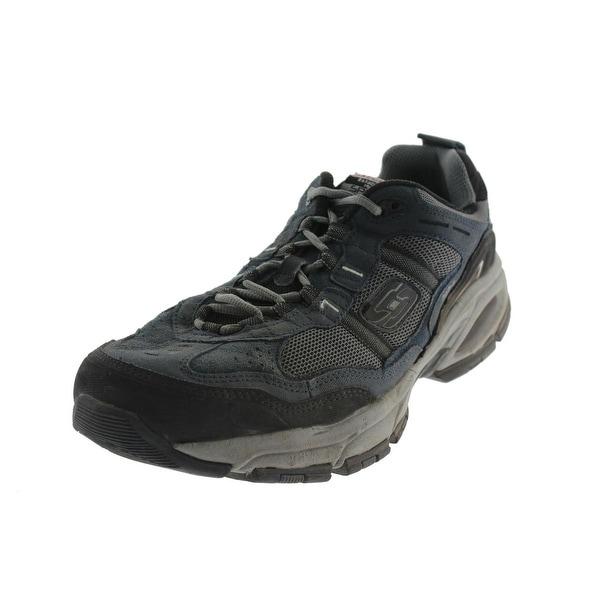 d51a1b1fa4168 Skechers Mens Vigor 2.0 Trait Athletic Shoes Suede Memory Foam - 10.5 extra  wide (e+
