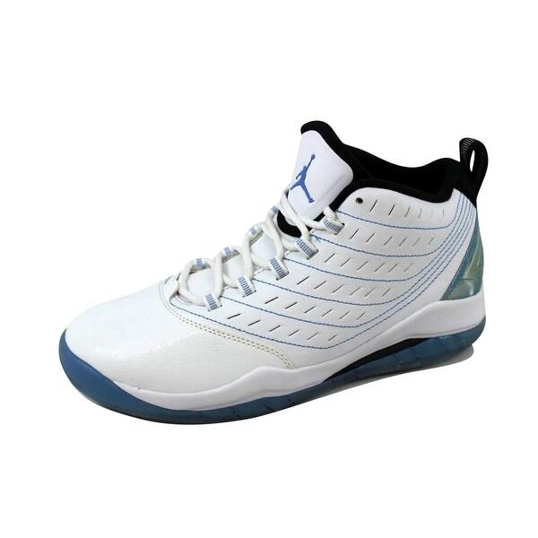 fa3081dd1de71 Nike Grade-School Air Jordan Velocity White Legend Blue-Black 693361-117