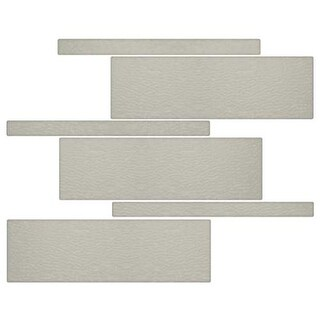 Miseno MT-G5FRAN Nature Mosaic Wall Tile (8.9 SF / Carton) - Tan