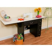 Arrow 98903 Auntie Em Black Sewing Cabinet