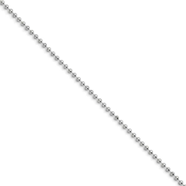 Chisel Stainless Steel 2.4mm 18 Inch Ball Chain (2.4 mm) - 18 in