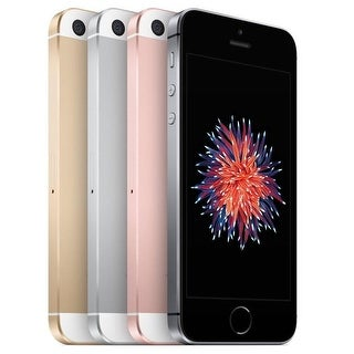 Apple iPhone SE 16GB IOS 9 Unlocked GSM Phone (Refurbished)