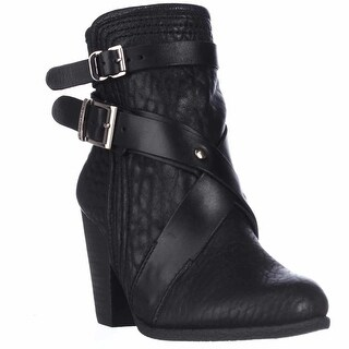 Vince Camuto Hailey Ankle Boots - Black Bubble