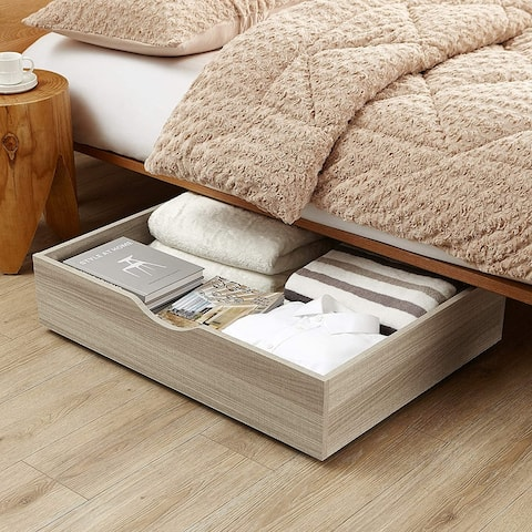 The Storage MAX - Underbed Wooden Organizer with Wheels