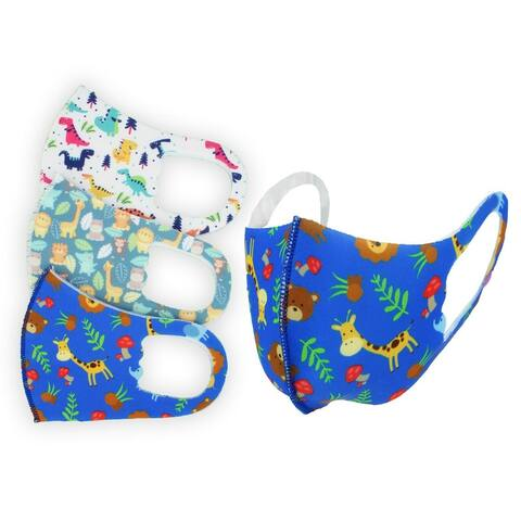 Kids Cloth face mask Washable Reusable Non Medical 3-pcs Pack