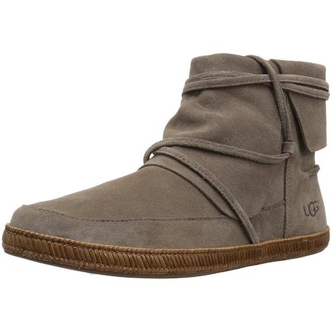 Ugg Womens W Reid Leather Closed Toe