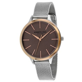 Kenneth Cole Women's Madison KC15056010 Brown Dial watch