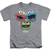 Sesame Street Halftone Heads Little Boys Shirt