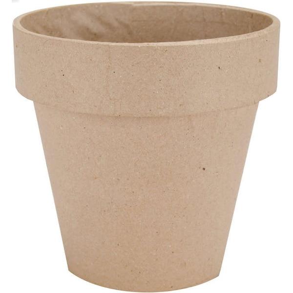 """Paper-Mache Flower Pot-5"""""""