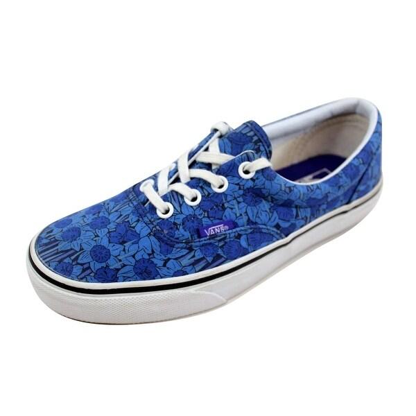 Shop Vans Men s Liberty Era Blue Floral Stripe VN-0Y6XFHL - On Sale ... 6b617ac75