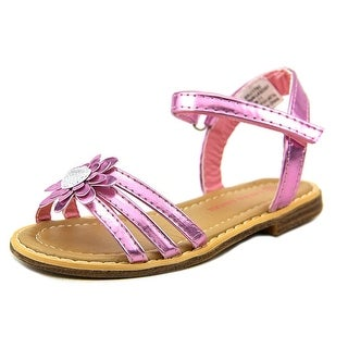 Laura Ashley Flower Sandal Toddler Open Toe Synthetic Pink Sandals
