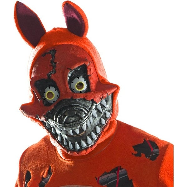 Five Nights At Freddyu0026#x27;s Nightmare Foxy Costume Mask - Red  sc 1 st  Overstock.com & Five Nights At Freddyu0027s Nightmare Foxy Costume Mask - Red