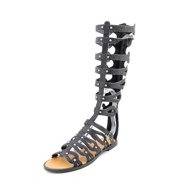 Penny Loves Kenny Moxie Women  Open Toe Synthetic Black Gladiator Sandal