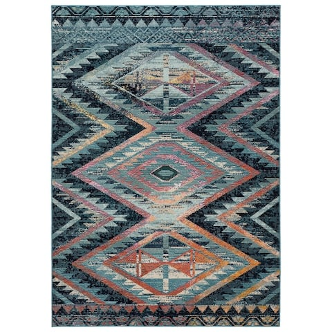 The Curated Nomad Langton Indoor/ Outdoor Tribal Area Rug