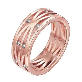 Classical London Inspired Rose Gold Ring