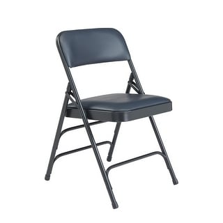 Link to (4 Pack) NPS Upholstered Vinyl Premium Folding Chair Similar Items in Home Office Furniture