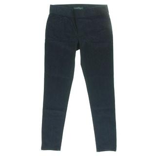 LRL Lauren Jeans Co. Womens Denim Leggings Pull On Mid-Rise