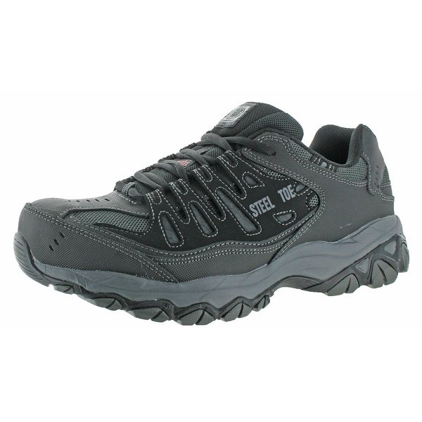 Skechers Work Cankton Men's Steel Toe Athletic Sneakers Shoes