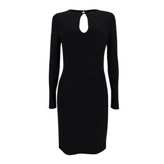 Lauren Ralph Lauren Women's Keyhole Jersey Dress