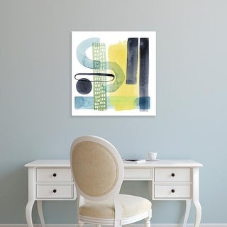 Easy Art Prints Grace Popp's 'Refractions II' Premium Canvas Art