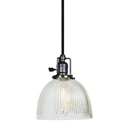 Jvi Designs 1200 S5 Cr Union Square 1 Light 7 Mini Pendants With Hand N Ribbed Gl Shade Free Shipping Today 19759267