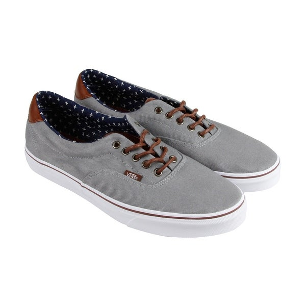04ecd8f57cea77 Shop Vans Era 59 Mens Gray Textile Lace Up Lace Up Sneakers Shoes - Free  Shipping On Orders Over  45 - Overstock - 16821829