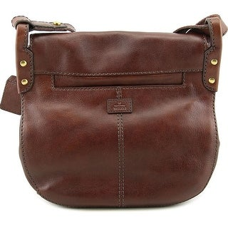 Fossil Vntg Lgcy Crossbody Leather Messenger - Brown