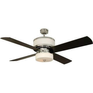 """Craftmade Midoro Midoro 56"""" 4 Blade Ceiling Fan - Blades, Remote and Light Kit Included"""