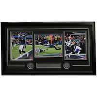 Foles Ertz Clement Framed Philadelphia Eagles Super Bowl LII Moments Collage