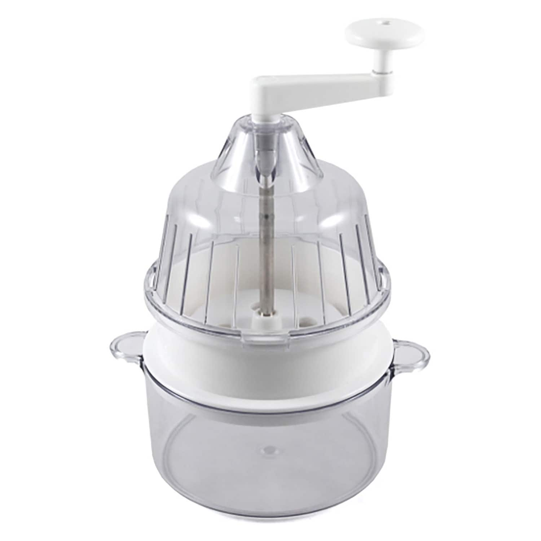 Joyce Chen Saladacco Spiral Vegetable Slicer White 9 1 2 Inches Overstock 31002965