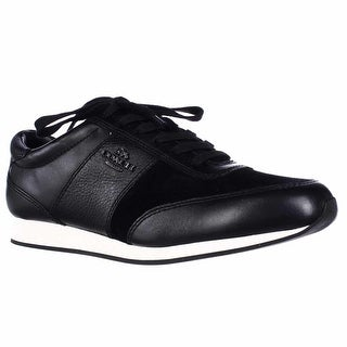 Coach Raylen Fashion Sneakers - Black/Black