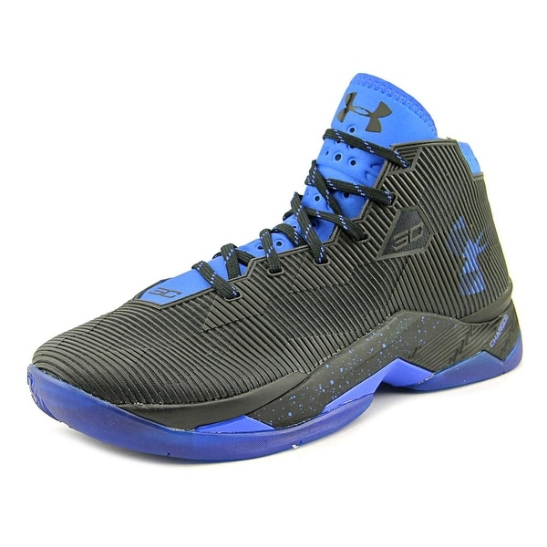 4bdb2410342e8f Shop Under Armour Curry 2.5 Men Round Toe Synthetic Black Basketball ...
