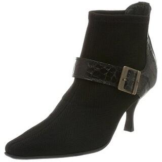 Donald J Pliner Women's Lucki Ankle Boot, Black, Size 8.0