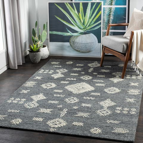 Gracia Global Wool Handmade Area Rug