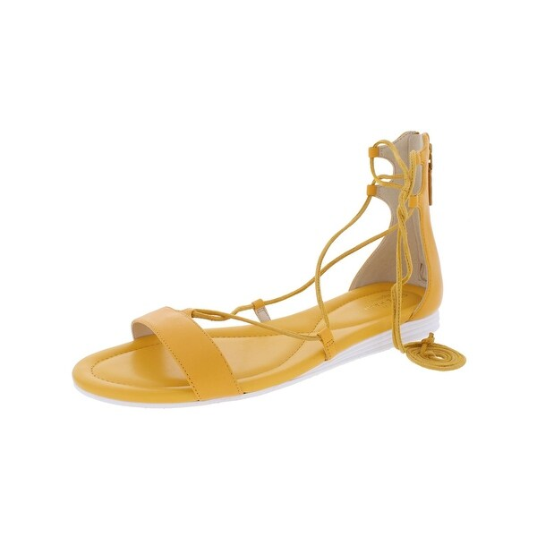 Cole Haan Womens Original Grand Flat Sandals Open Toe Cushioned