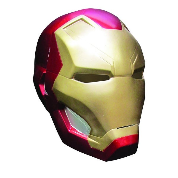 Captain America 3 Iron Man 2 Piece Costume Mask Adult One Size - Red