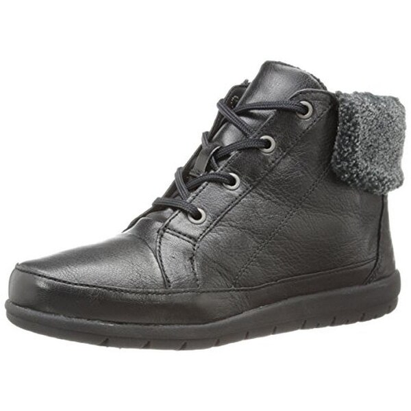 Easy Spirit Womens Caldera Winter Boots Leather Waterproof